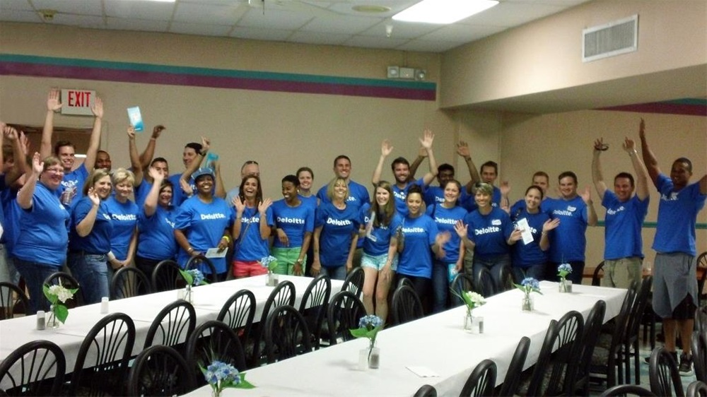 Employees of Deloitte regularly choose Goodwill-Suncoast for their volunteer