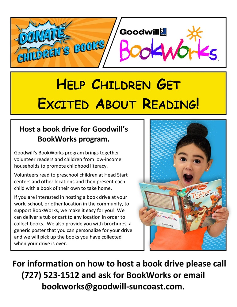 Flyer for Bookworks