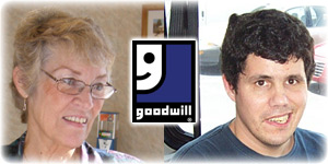 Financial gifts to Goodwill help real people succeed.