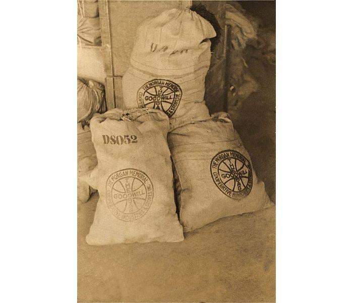 Older Burlap Bags