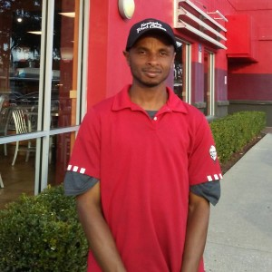 Colin At KFC