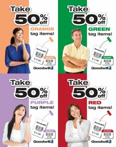 Color of The Week Sale 50% Off | Goodwill Industries Suncoast
