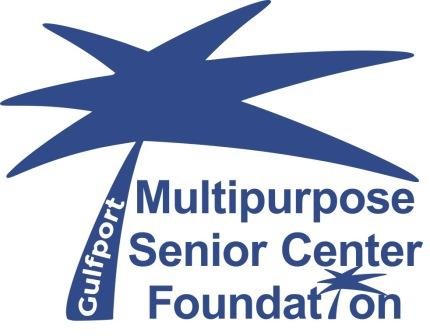 Gulfport senior center logo