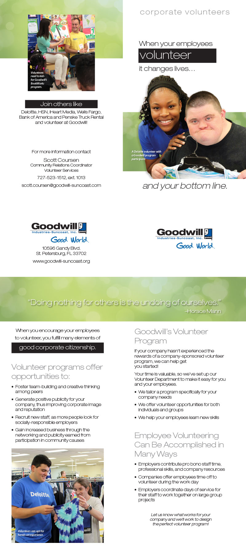 goodwill brochures goodwill industries suncoast