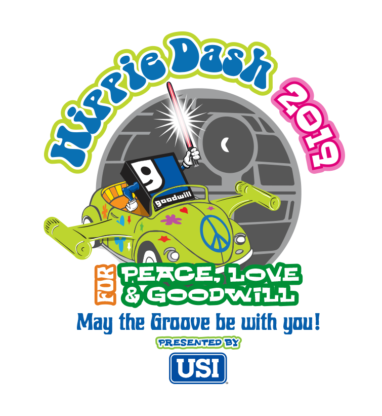 May The Fourth Be With You Transparent: Hippie Dash For Peace, Love & Goodwill! May The Groove Be