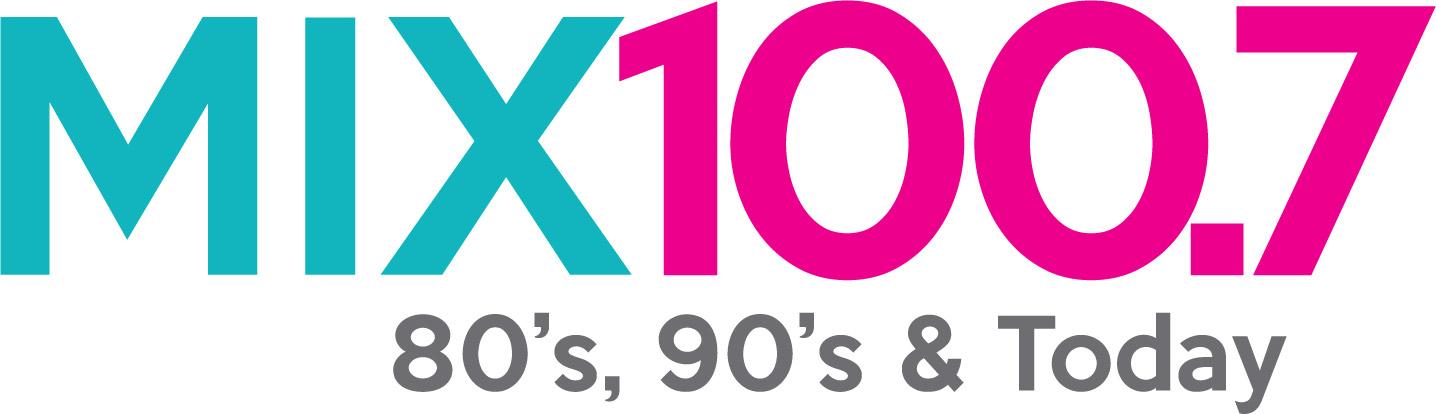 mix 100.7 logo