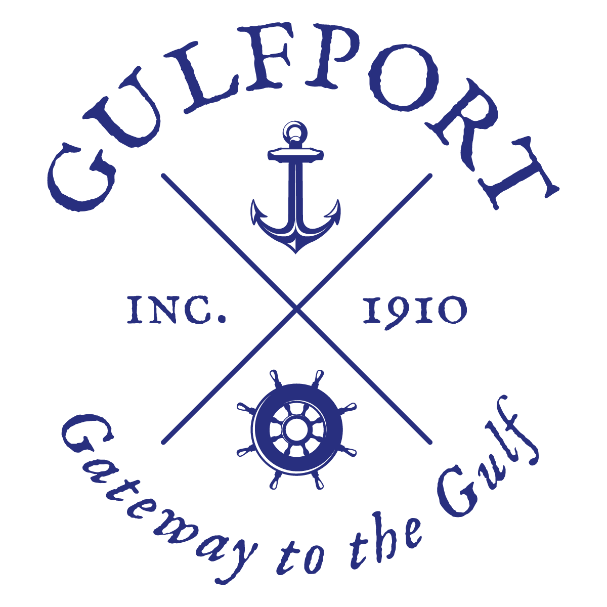 city of gulfport logo