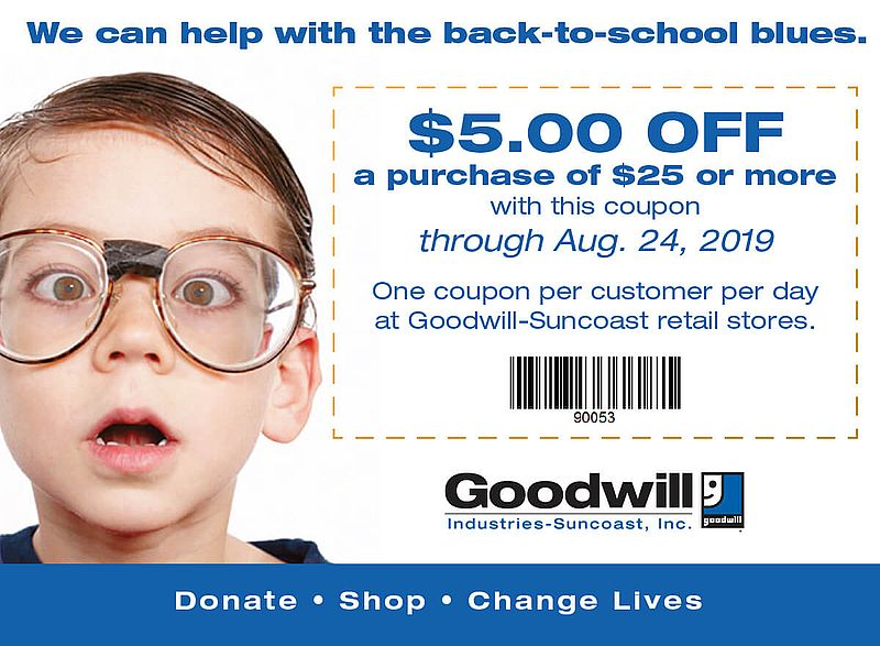 Back To School Coupon Flyer