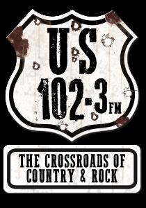 US 102.3 logo