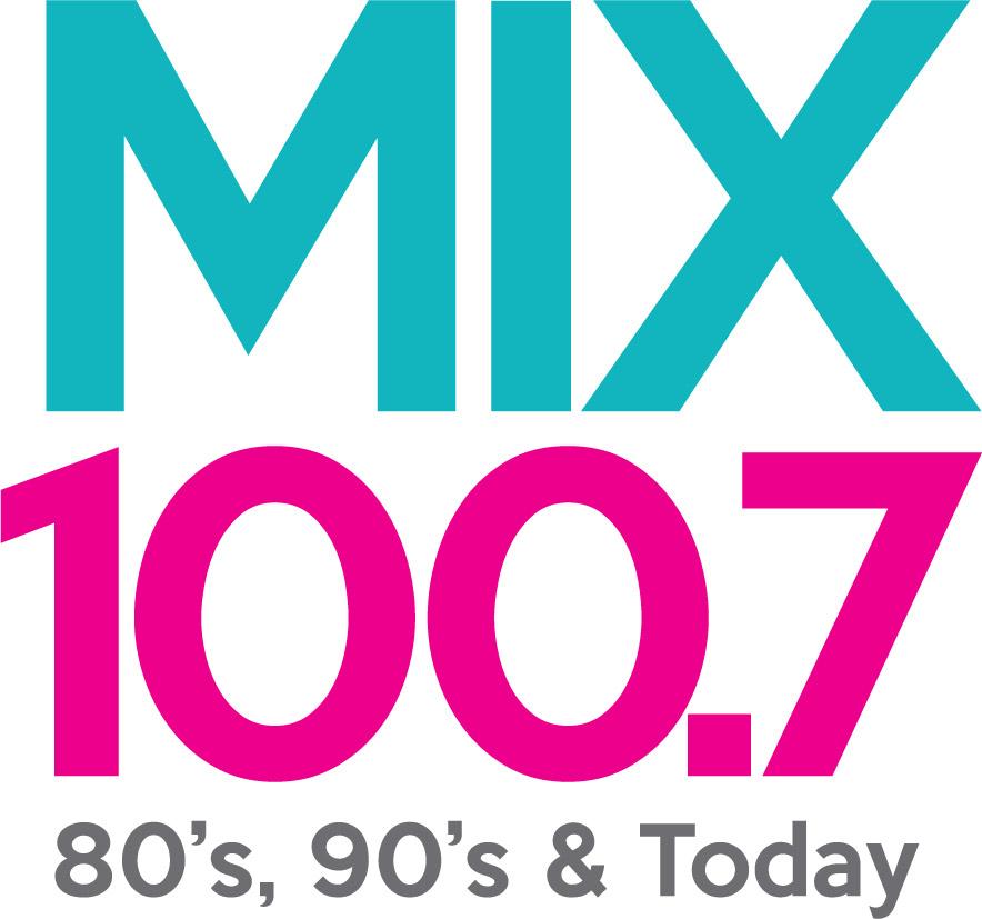 Mix100.7 logo